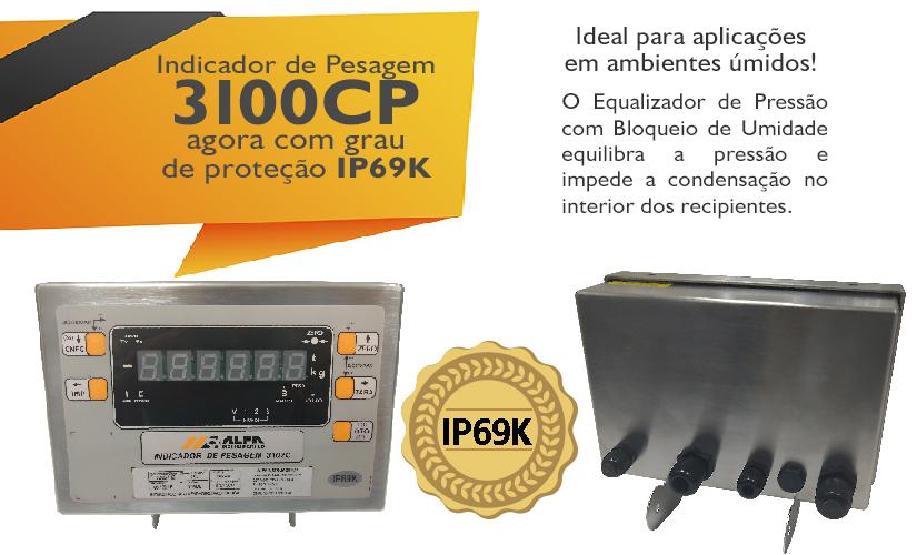 IP69K indicadores da Alfa Instrumentos